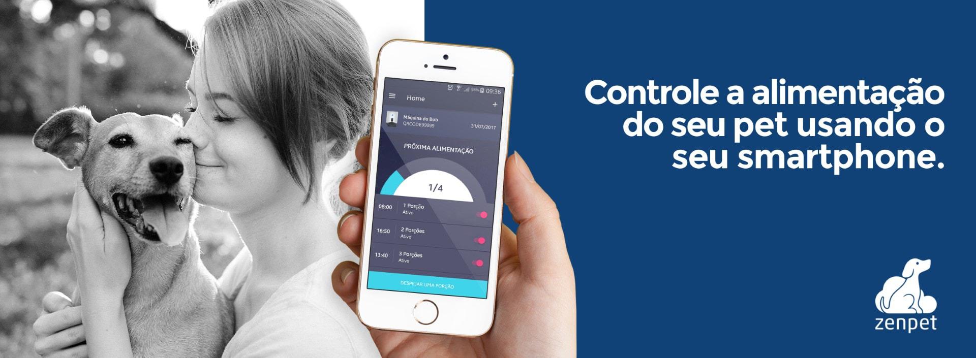 Controle a alimentação do seu pet usando o seu smartphone